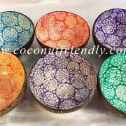 Wholesale Vietnam eggshell inlaid coconut bowl