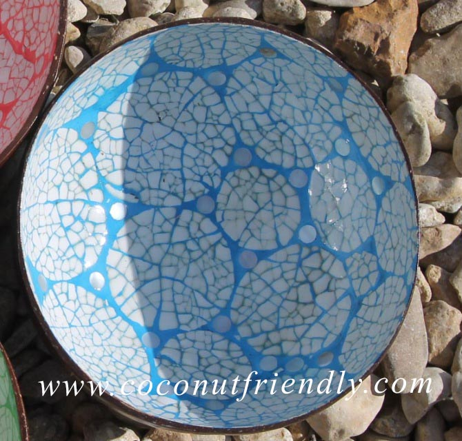 Vietnam Coconut Bowls with Eggshell inlay Wholesale