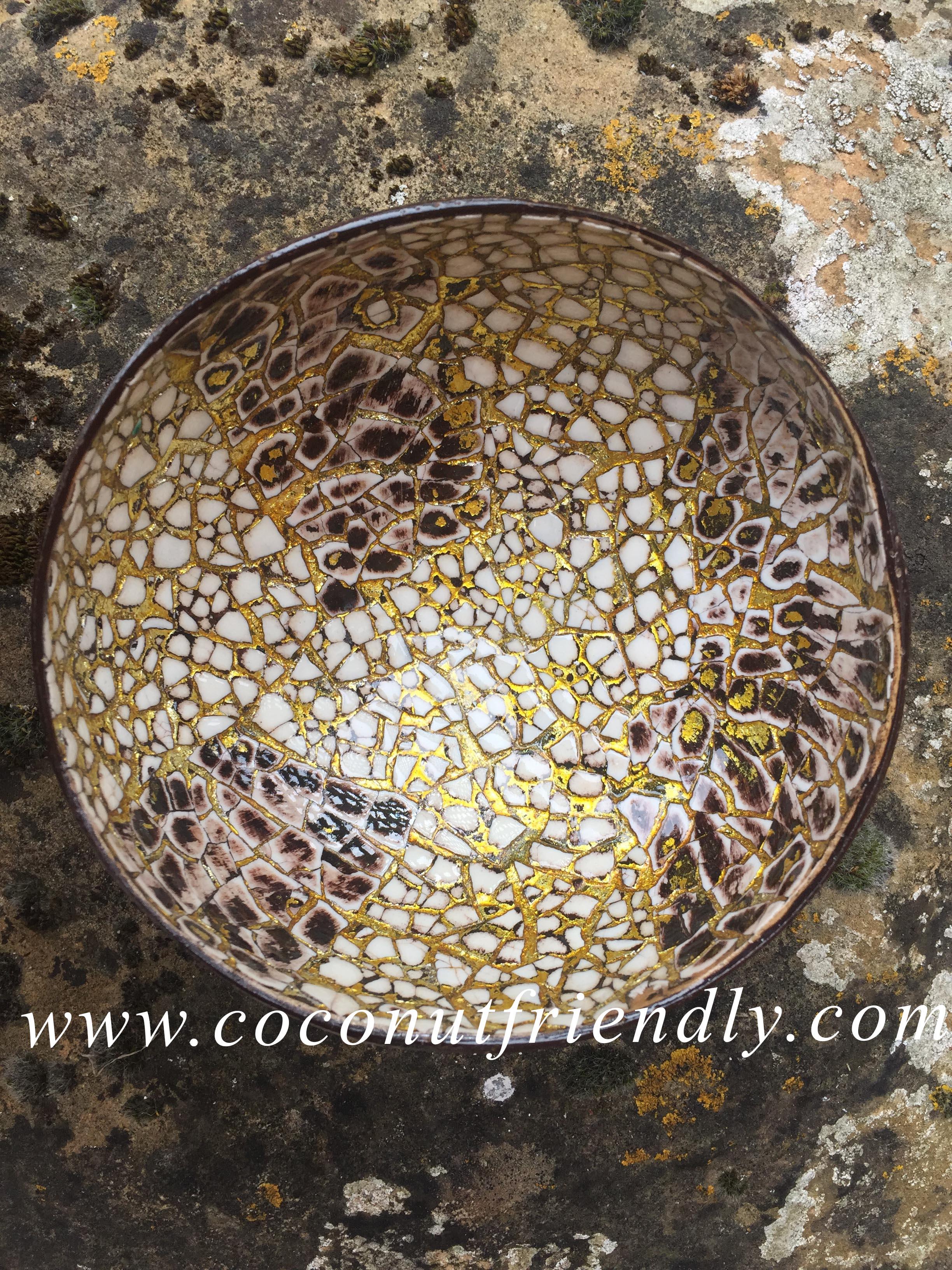 Lacquer Coconut Bowls Wholesale