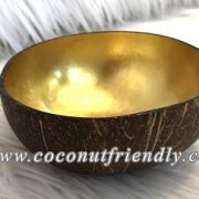 CFCB 1868 -Coconutfriendly.com - Metallic Coconut Bowls for Wholesale