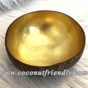 CFCB 1868 -Coconutfriendly.com - Metallic Coconut Bowls for Wholesale