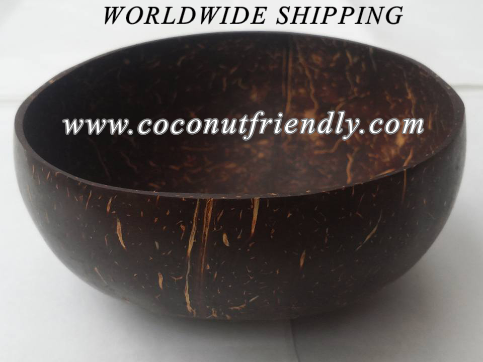 Natural coconut bowls , Vietnam wholesale coconut shell bowl