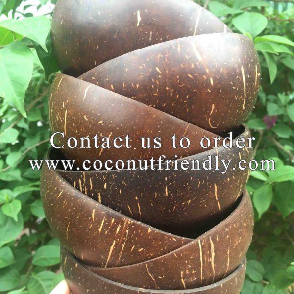 Coconutfriendly.com - Original Coconut Shell Bowls Wholesale