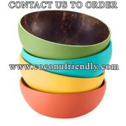 Vietnam coconut bowls wholesale, we are producer of coconut bowls, spoons, forks, bamboo straws
