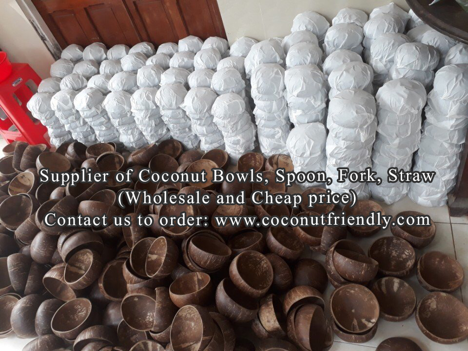 Coconut bowls wholesale , Coconut bowls in Vietnam