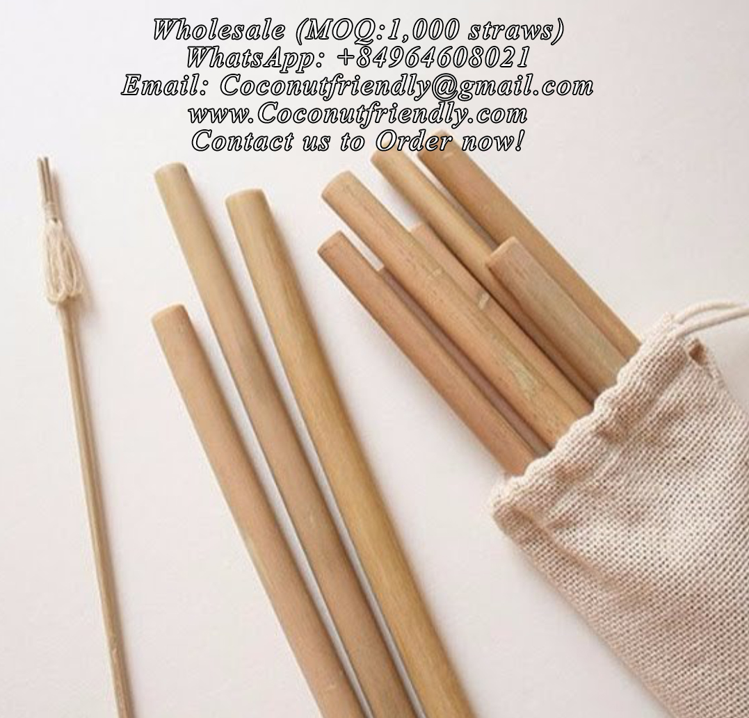 CFS 805 – Supplier Bamboo Straw Wholesale , Vietnam Bamboo Straws Wholesale