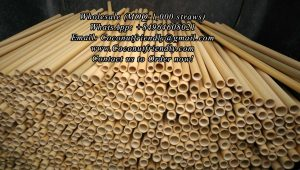 Natural Bamboo Straws Wholesale Price: US $0.15 – 0.34 /straw Place of Origin Vietnam MOQ 1,000 pieces Logo/Name Print logo is Available Usage Restaurant, party, home, hotel, etc.. Supply Ability: 200,000 straws per Month Port: Noi Bai Air Port and Hai Phong Sea Port Payment Terms: L/C at sight,T/T, Bank Tranfer, PayPal Production: within 5-10 days Delivery Delivery: By Air: 4-6 days & By Sea: 25-30 days Email us for Wholesale Coconutfriendly@gmail.com Click Here WhatsApp/Viber: +84964608021