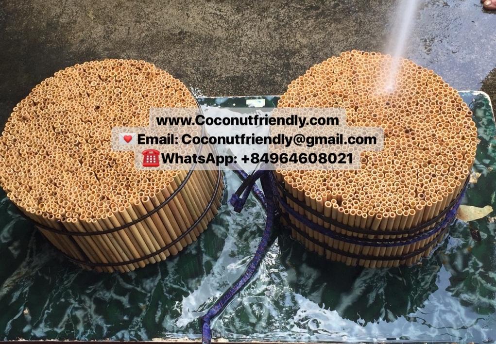 Wholesale Bamboo Drinking Straws Organic Reusable Eco Friendly Biodegradable