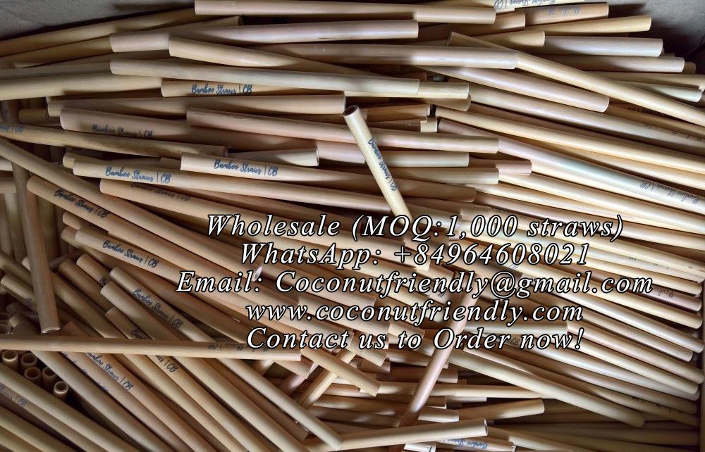 Wholesale Handmade bamboo straws Vietnam cheap price