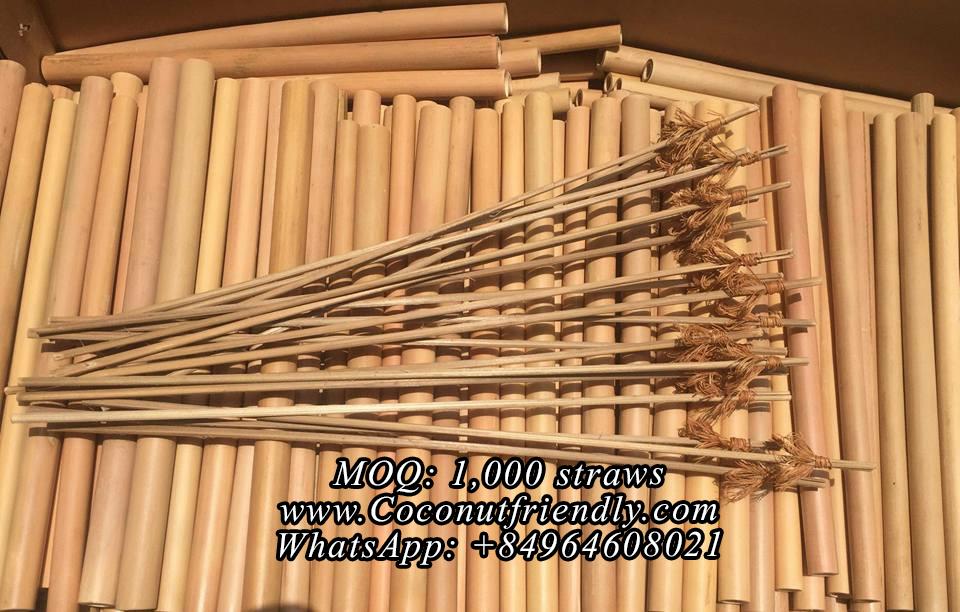 Wholesale Bamboo Straws Supplier , Customized logo
