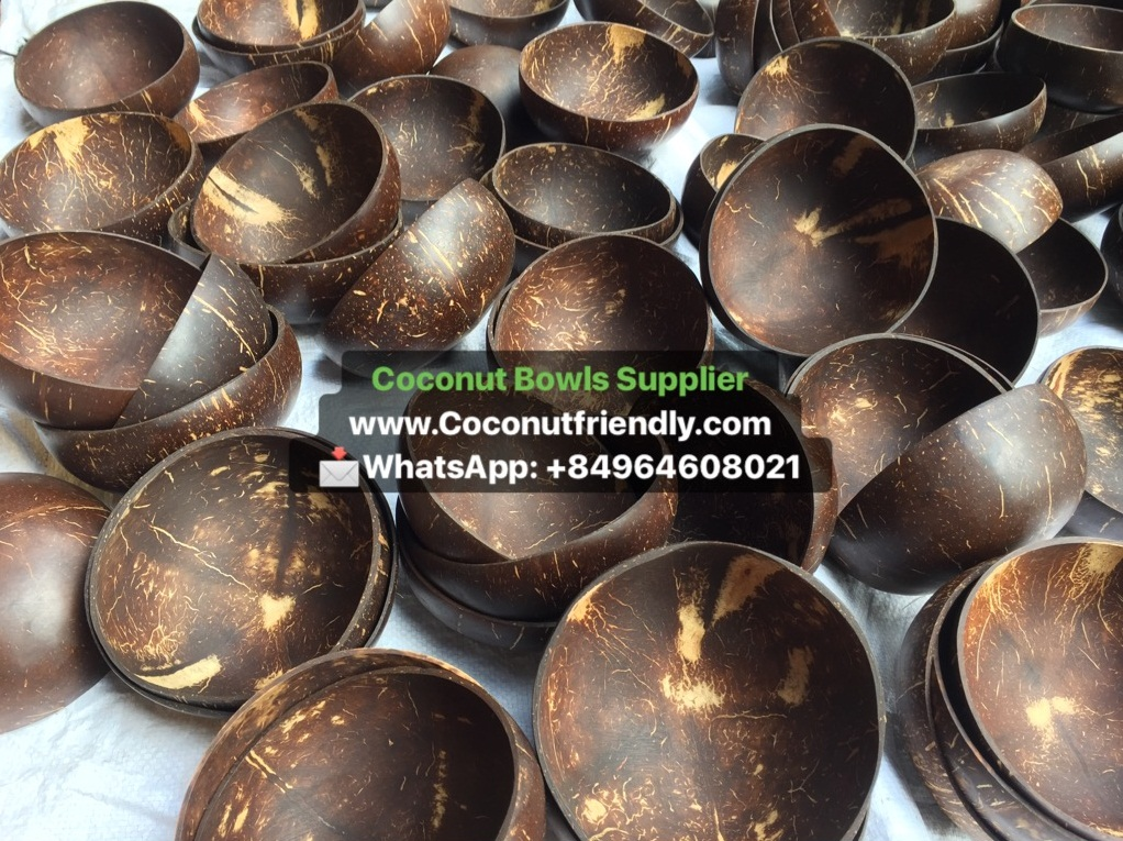 Wholesale Coconut Bowls Vietnam