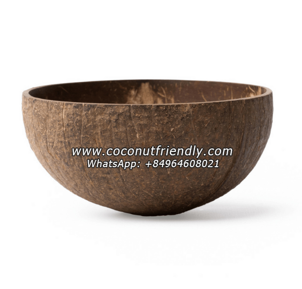 Vietnam Natural Raw coconut bowl manufacturer for wholesale