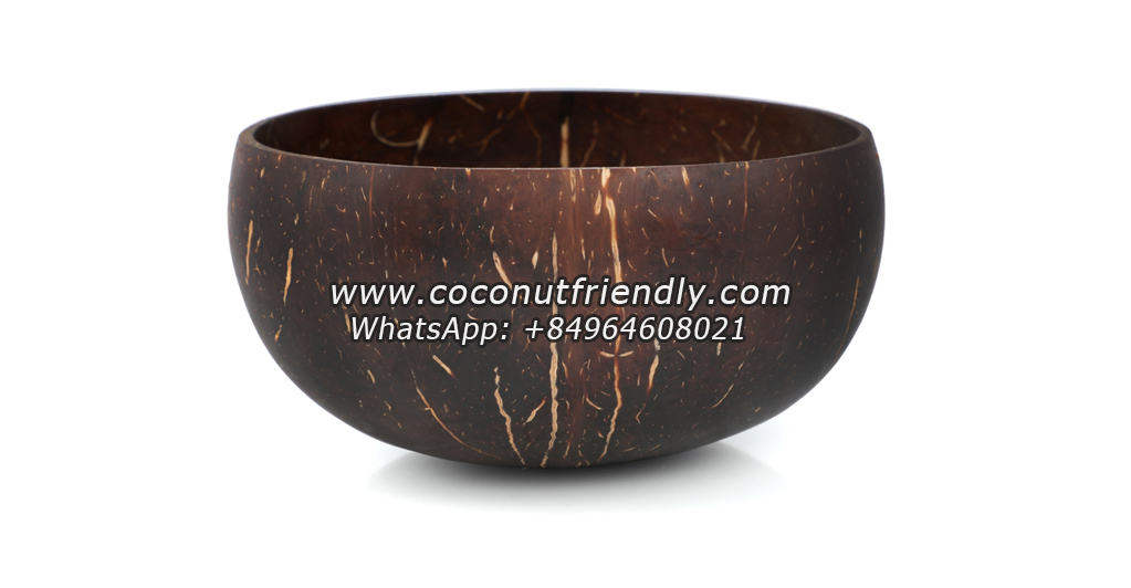 Natural Coconut Bowls Wholesale