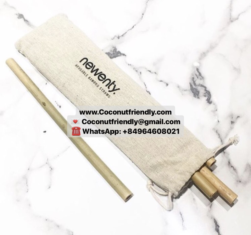 High quality hot selling natural bamboo straw from Vietnam