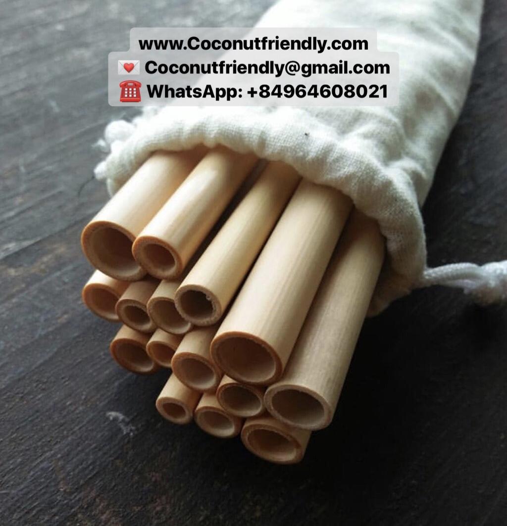 CF 806 Handmade bamboo straws Vietnam