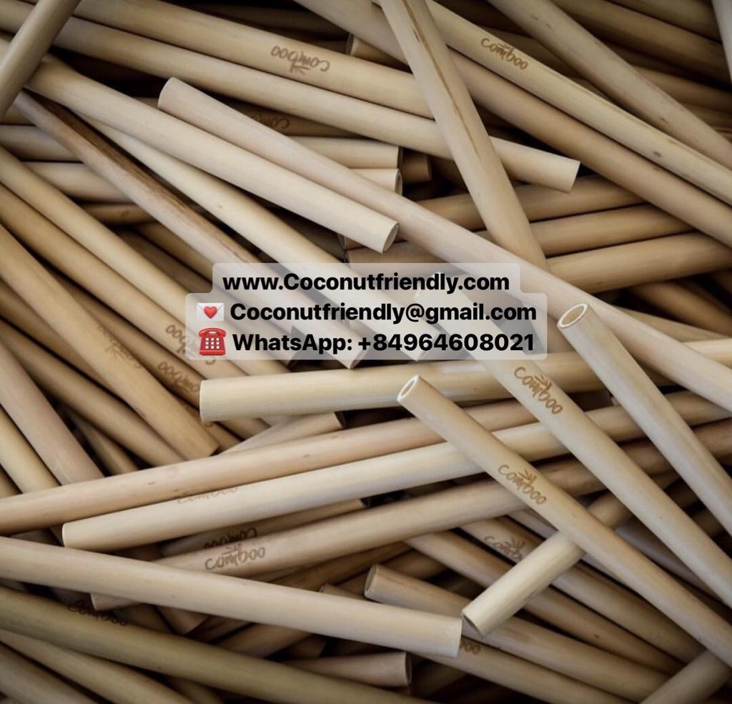 Best Supplier Organic Bamboo Straws Vietnam
