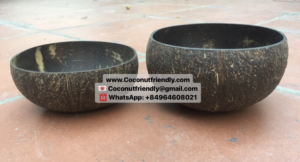 VIETNAM JUMBO BIG COCONUT BOWLS FOR SALE