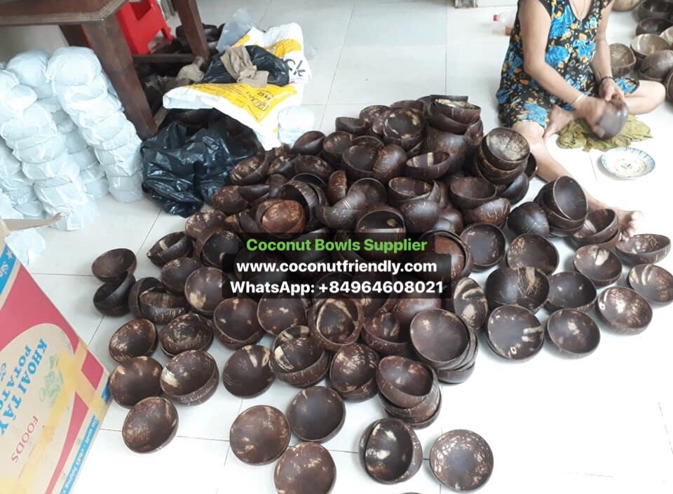 100% Natural Eco Friendly Coconut Shell Bowl/ Coconut Bowl