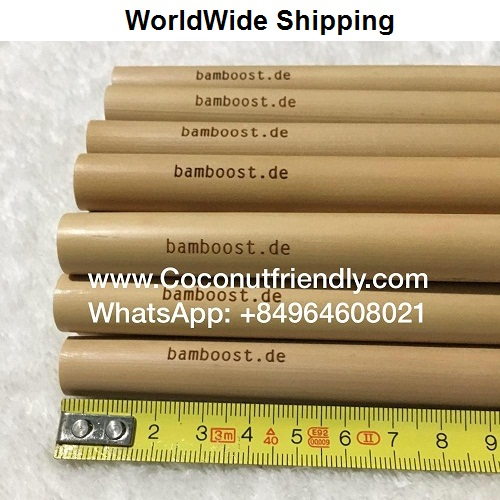 Natural bamboo straws logo , bamboo straw manufacturers