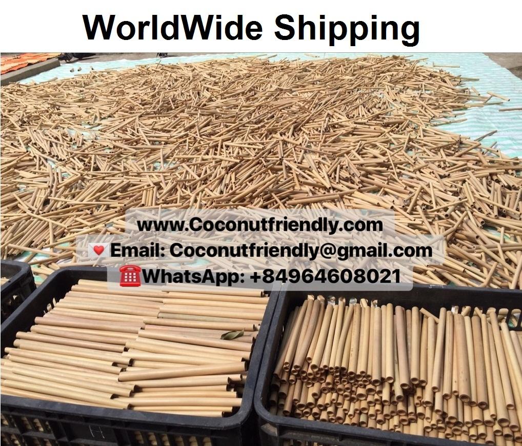 Branded bamboo straws , bamboo straws wholesale uk , vietnam