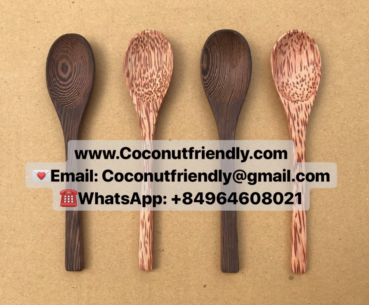 Best selling eco coconut spoon kitchenware good price wholesale