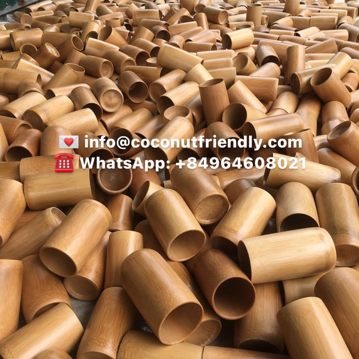 Wholesale Bamboo Cups Vietnam Natural , Coconutfriendly.com