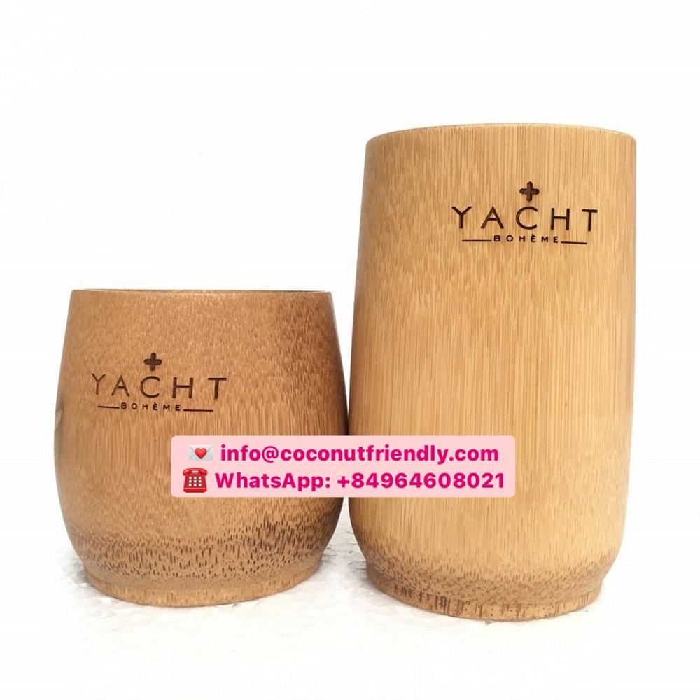 Logo Vietnam High Quality Bamboo Cups Cheap Prices – Coconutfriendly.com