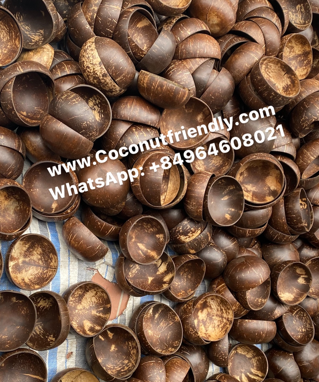 How to make Coconut shell bowl Vietnam Manufacturer
